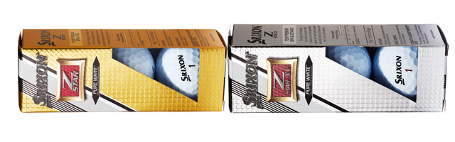 Srixon Z-Star and Z-Star XV Golf Balls