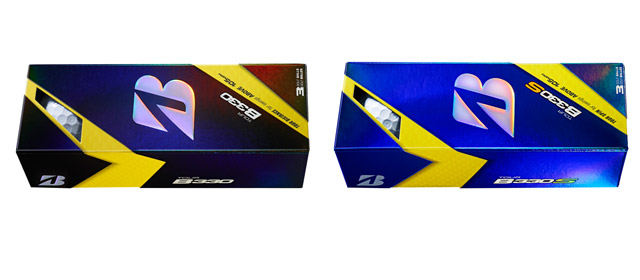 Bridgestone Tour B330 and Tour B330S Golf Balls