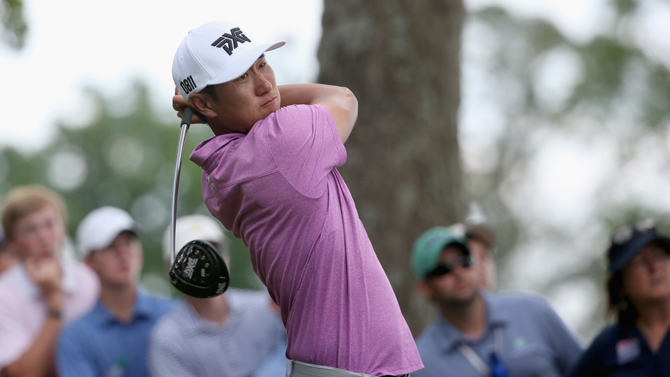 James Hahn is the first Tour player to win using PXG golf clubs.