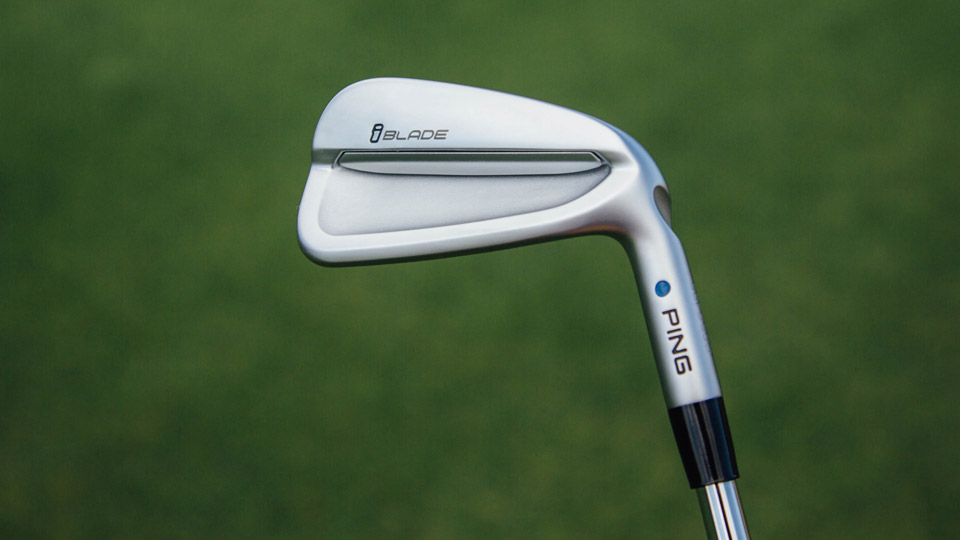 The new Ping iBlade iron.