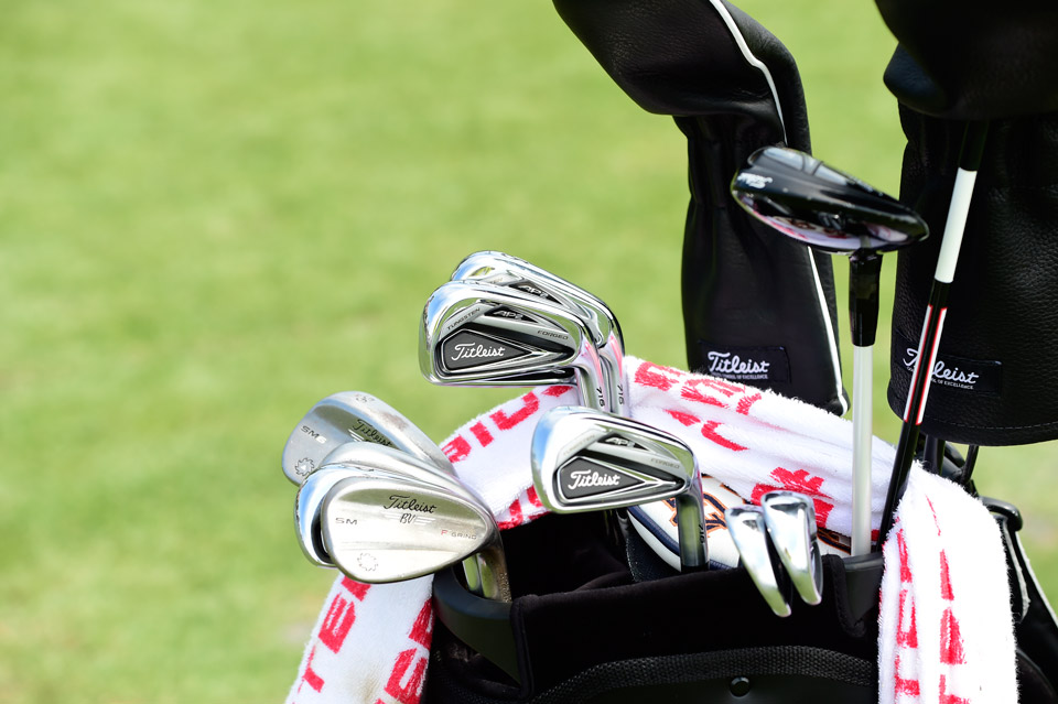 Jason Dufner plays Titleist 716 AP2 irons and Titleist Vokey Design SM6 wedges.