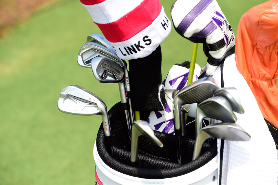 Matthew Fitzpatrick, the 2013 U.S. Amateur champ, has a mixed set of Ping i25 and Ping S55 irons.