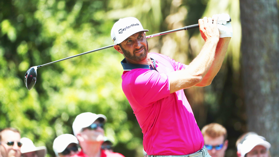 Dustin Johnson is fourth on Tour in driving distance, averaging almost 309 yards off the tee.