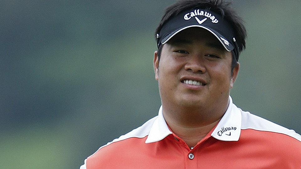 Hey Kiradech Aphibarnrat, that shot on the 17th wasn't that bad!