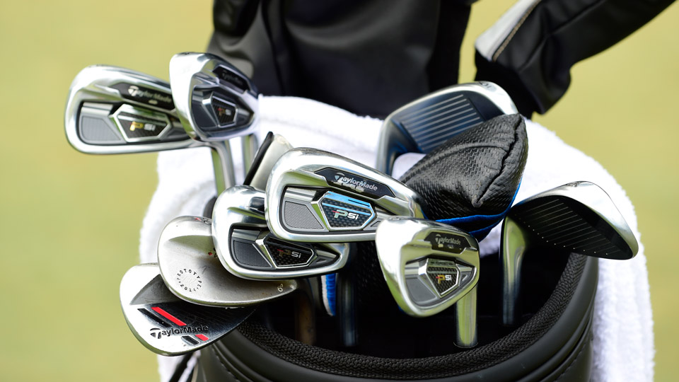 John Huh, the 2012 PGA Tour Rookie of the Year, is playing TaylorMade PSi irons, a TaylorMade ATV 52° wedge and a prototype Titleist Vokey Design 60° K grind wedge.