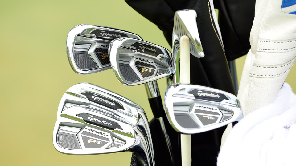 Scotland's Martin Laird is armed this week with TaylorMade PSi Tour irons.