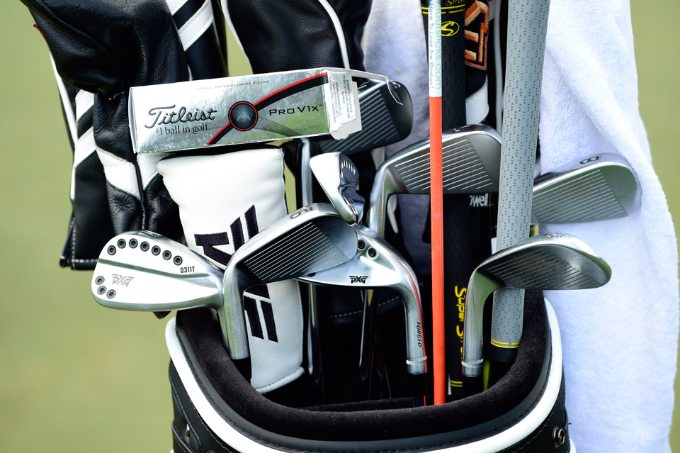 PXG player Charles Howell III is gaming the company's new 0311T forged irons.