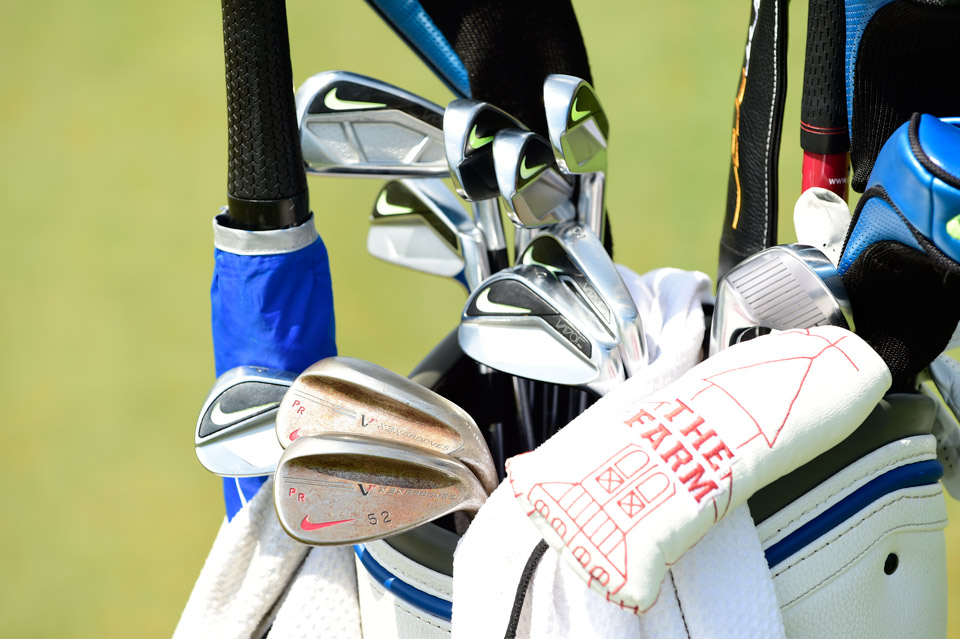 Big time Colts fan Patrick Rodgers is yet another Nike player who opts for the ever-popular Pro Forged irons. He also favors Nike's VR Pro wedges.