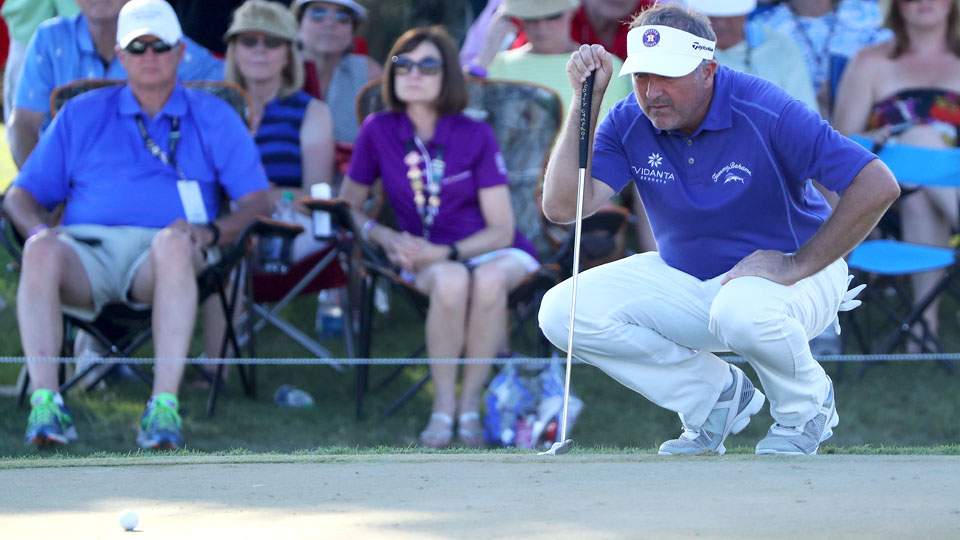 Ken Duke shot a 7-under 65 at the Players Championship on Saturday.