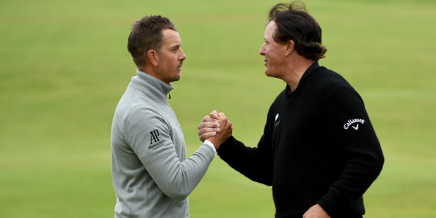 It's Stenson vs. Mickelson on Sunday, or will another player from the field sneak into the mix?
