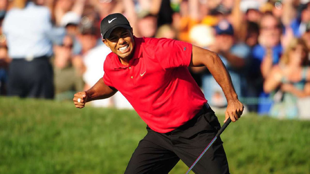 tiger woods u0026 39  40 biggest moments  playoff win at the 2008 u