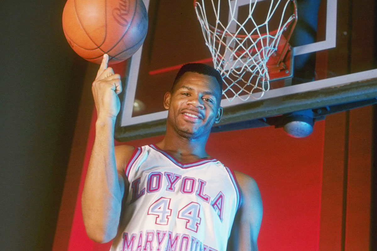 Hank Gathers's Death Casts Pall On College Basketball