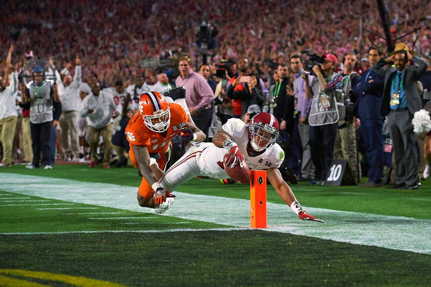 A pair of Heisman Trophy finalists. A 37-point fourth quarter. One of the greatest onside kicks in college football history. Oh, and did we mention this matchup determined the national championship? Alabama's epic title victory over Clemson evolved into an instant classic, one that saved us from a postseason defined by lifeless blowouts.