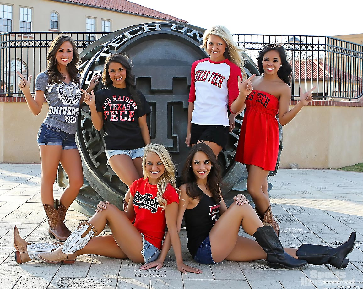 Sexy texas tech girls