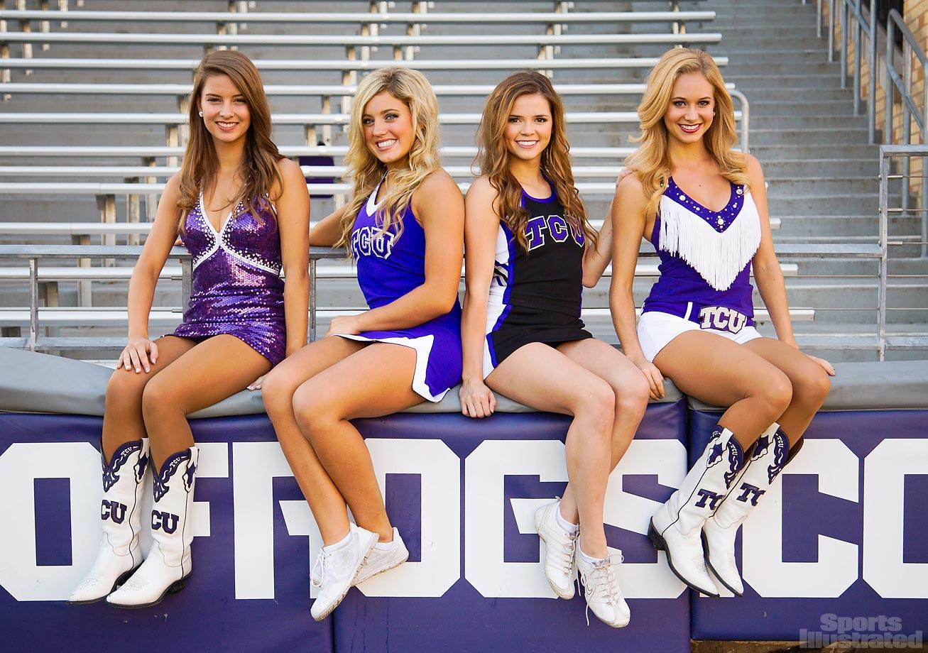 Image result for tcu cheerleaders