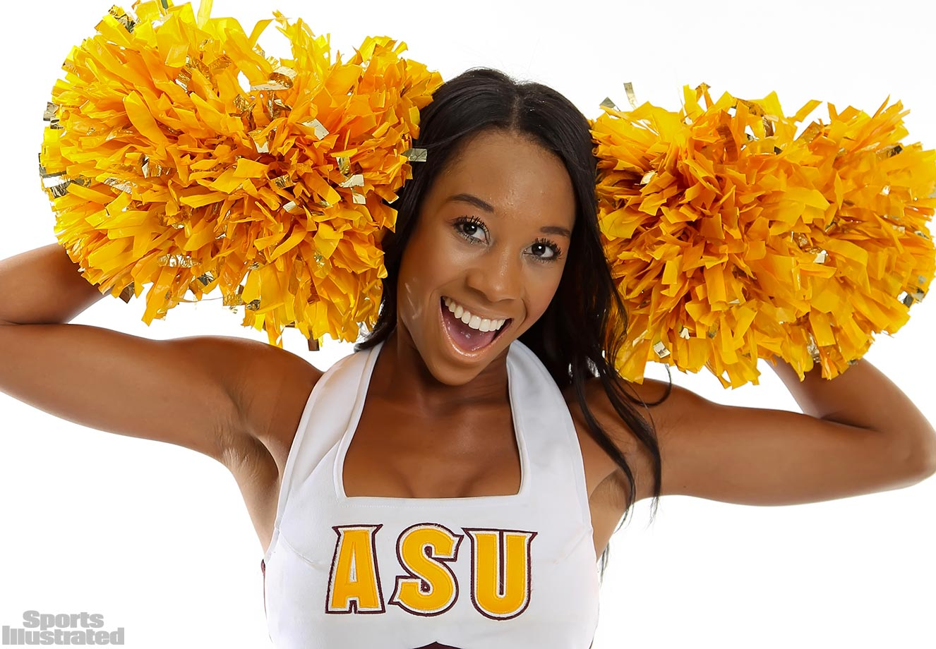 "Meet Kailie of the Arizona State Spirit Squad, whose celebrity crush is Drake and who loves using Instagram: ""I love posting pictures and sharing moments of my life with my family and friends."""