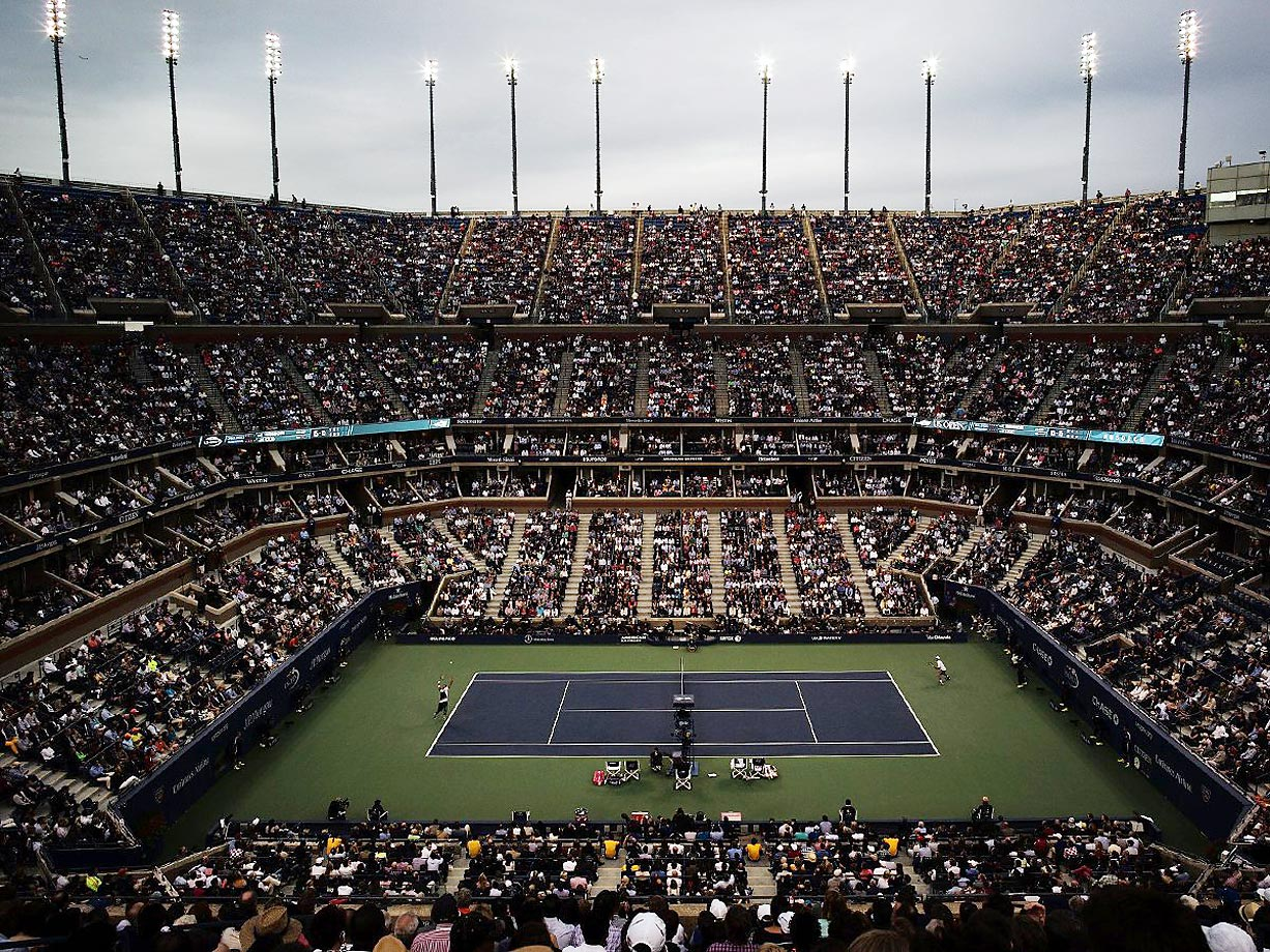 Marin Cilic defeated Kei Nishikori 6-3, 6-3, 6-3 on Monday to win his first U.S. Open title. In a tournament full of upsets, Cilic pulled off the final one, carrying over the form that saw him upend No. 2 seed Roger Federer 6-3, 6-4, 6-4 in the semifinals to advance to his first Slam final. The 25-year-old became the first Croatian to win a major since Goran Ivanisevic won Wimbledon in 2001 and the first man ranked outside the top ten to win the U.S. Open since Pete Sampras in 2002.