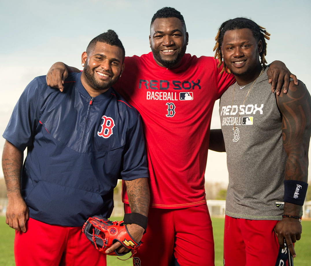 Highest salaries: Hanley Ramirez ($19,750,000), Pablo Sandoval (($17,600,000), Mike Napoli ($16,000,000), David Ortiz ($16,000,000)