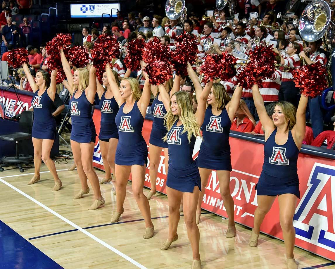 Image result for uofa cheerleaders