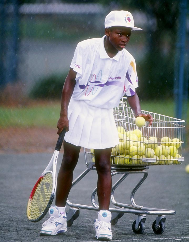 All five of the Williams sisters were exposed to tennis at an early age, but Serena and Venus seemed to display the most interest and strongest prospects.