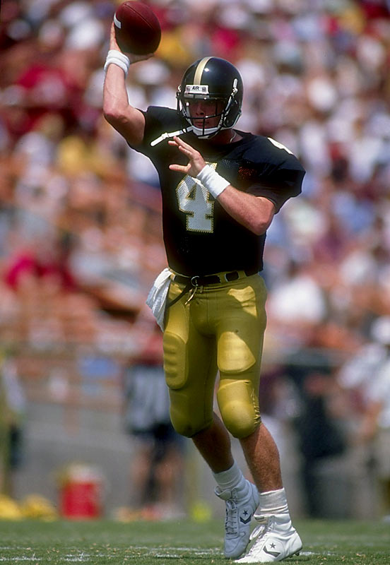 Favre led the Golden Eagles to dramatic come-from-behind wins over Florida State, Alabama and Tulane. ''You can call it a miracle or a legend or whatever you want to,'' said then Crimson Tide coach Gene Stallings. ''I just know that on that day (Sept. 8, 1990), Brett Favre was larger than life.'' — Runner-up: Terrence Newman, DB, Kansas State (1999-02)