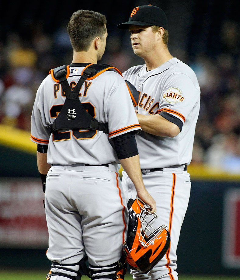 Highest salaries: Matt Cain ($20,833,333), Hunter Pence ($18,500,000), Tim Lincecum ($18,000,000), Buster Posey ($17,277,777)
