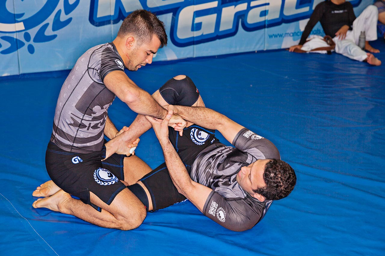 Renzo Gracie (Right) and Luciano Christovam