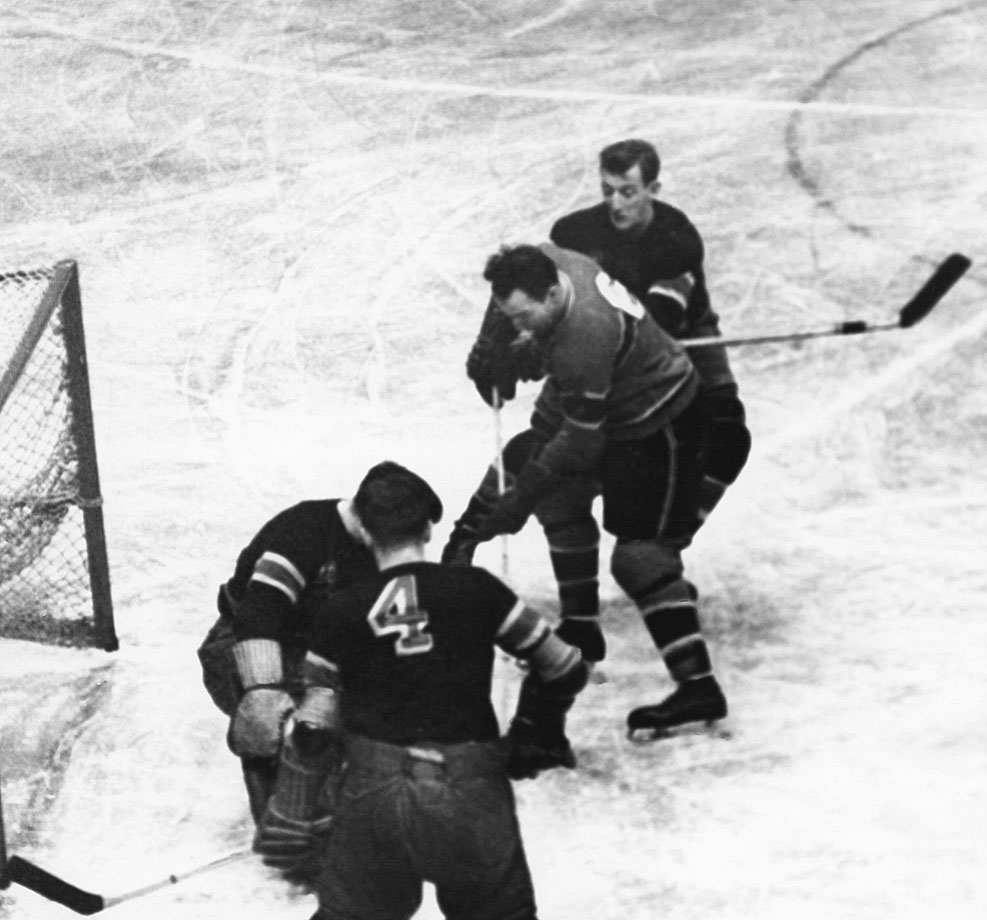 Before he became hockey's greatest coach, Blake — whose first name was Hector — spent 11 seasons on Montreal's famed Punch Line, winning the Hart Trophy in 1939.