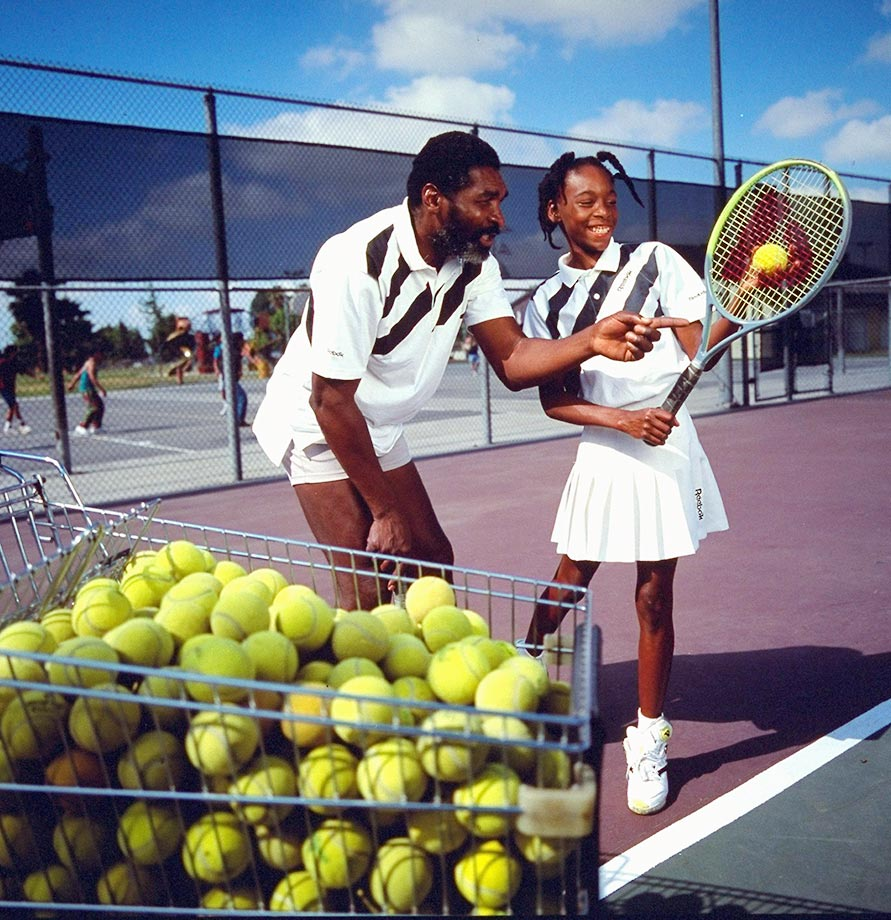 "Despite his desire to see Venus succeed in tennis, Richard Williams told Sports Illustrated in 1991 that he still wanted his daughter to have a real childhood. ""Venus is still young. We want her to be a little girl while she is a little girl. I'm not going to let Venus pass up her childhood. Long after tennis is over, I want her to know who she is."""