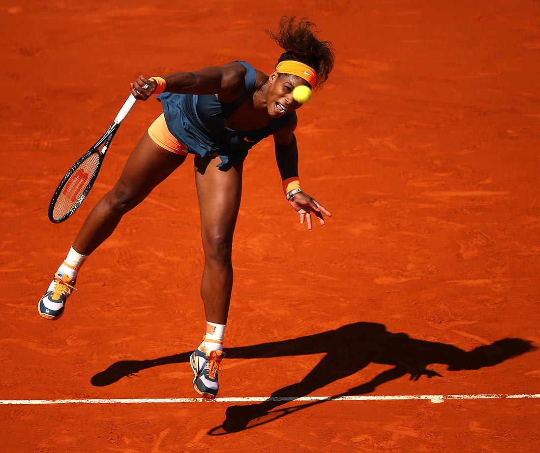 A year earlier Serena lost in the first round to 111th-ranked French wildcard Virginie Razzano 4-6, 7-6 (5), 6-3, her first opening round loss at a Slam in her career. She finally cast off her Parisian demons -- she hadn't been past the quarterfinals since 2004 -- to win her second French Open title 11 years after her first title in 2002.