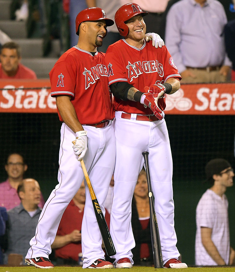 Highest salaries: Josh Hamilton ($25,400,000), Albert Pujols ($24,000,000), C.J. Wilson ($18,500,000), Jered Weaver ($18,200,000)
