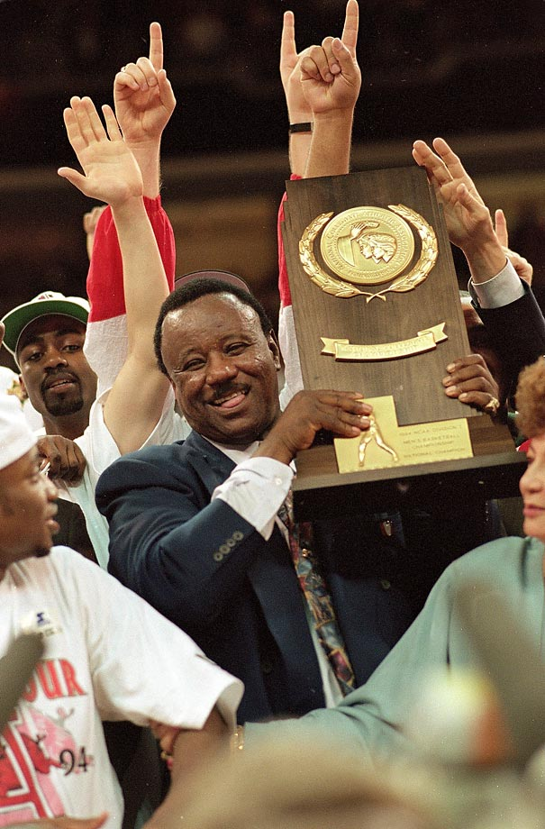 "Richardson is the only man to coach an NIT championship, a Junior College championship and a D-I championship during his career. He is best known for his pressure defenses, which were dubbed ""40 minutes of hell."""