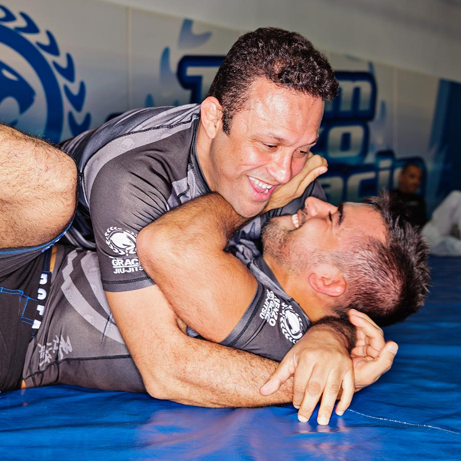 Renzo Gracie (Left) and Luciano Christovam