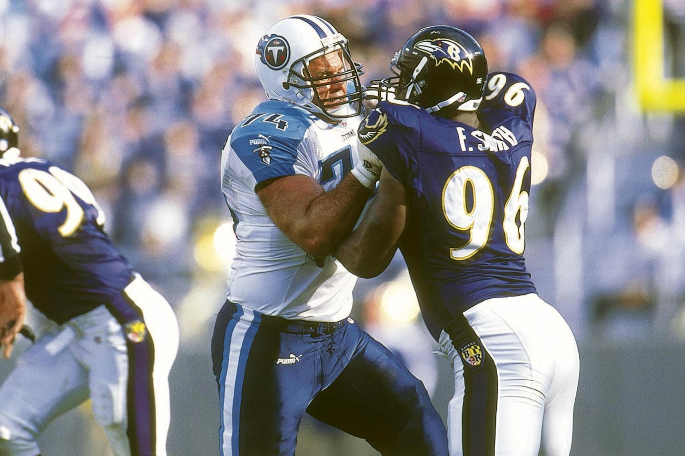 Matthews was a true ironman, starting 292 games across every position on the offensive line. His Credentials: 14-time Pro Bowl selection, 10-time All-Pro, named to NFL's All-Decade Team for the 1990s, second all-time in career games played (296), ranked No. 78 on NFL's list of 100 greatest players, inducted into Hall of Fame in 2007. Others in Consideration: Kevin Williams (2003, Vikings); Brian Urlacher (2000, Bears); Fred Taylor (1998, Jaguars); Richmond Webb (1990, Dolphins); Jerome Brown (1987, Eagles)