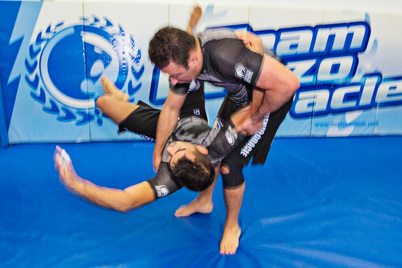 Renzo Gracie (Top) and Luciano Christovam