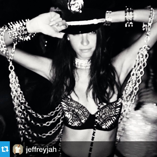 #Repost from @jeffreyjah Even on the playa @jchiminazzo so chic #whiteoceancamp #burningman2014 #blackrockcity