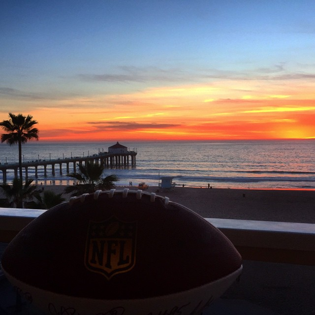 Halftime sunset #LA #Superbowl sorry for stealing ur idea @c_dwyer