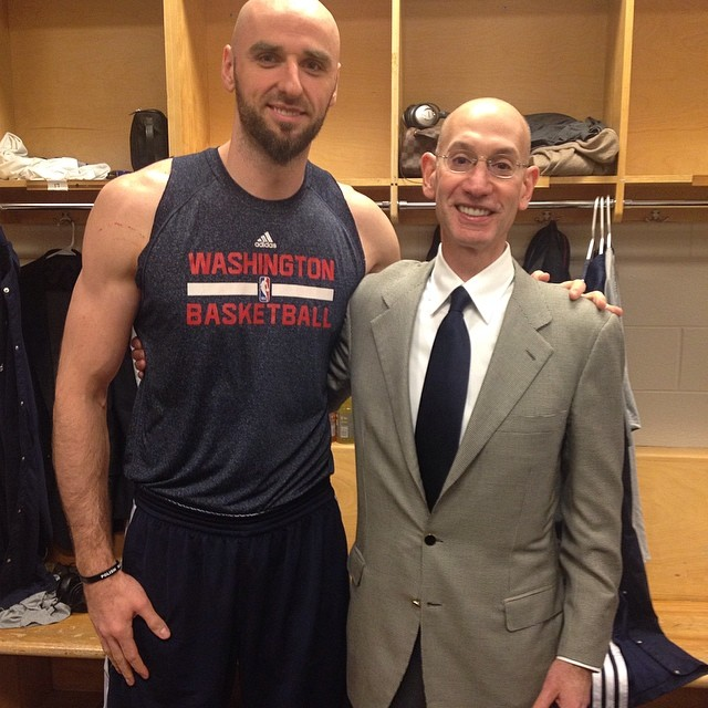 When i took this picture, i knew Adam silver would be a great leader and the league would grow even bigger under him. He made a great decision today to prove that and i am proud of him.