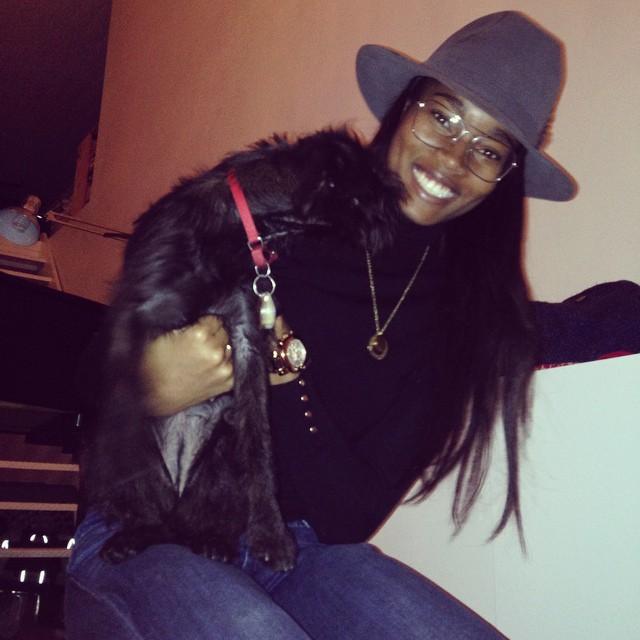 Puppy love. @kenzafourati @donegandonegan
