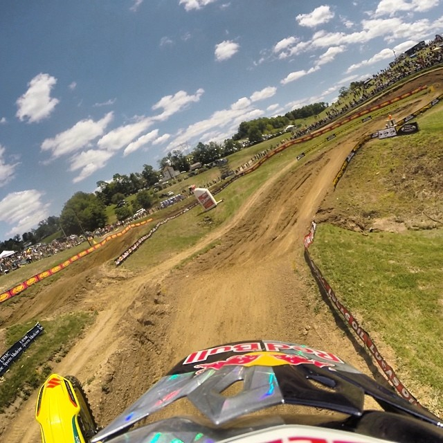 James Stewart Jr., also known as Bubba, began riding motocross professionally at the age of 16, but has literally grown up on a bike. Stewart was named AMA Rookie of the Year in 2002 and since then has racked up almost 100 wins. For a look into the wild world of motocross check out Stewart's Instagram @therealjs7.