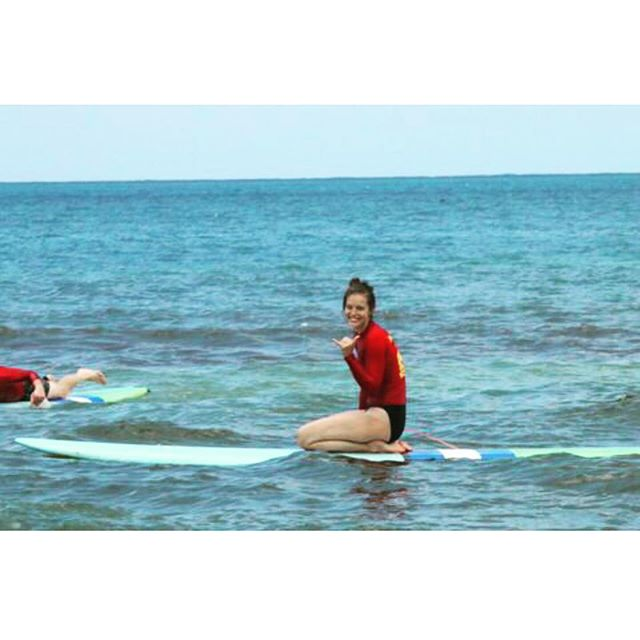 Thanks for teaching me to surf @hawaiiansurfingadventures #Kauai #Hawaii
