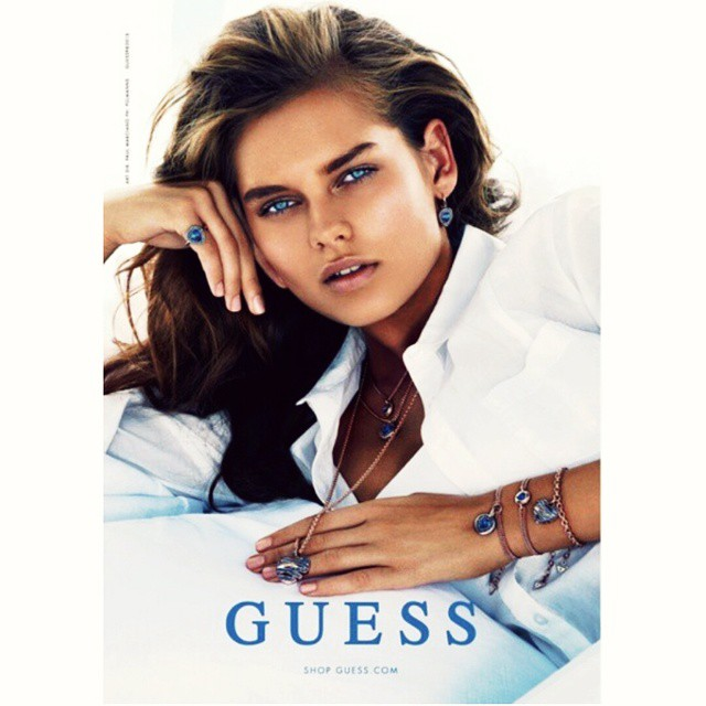 One of my favorites ! @pullmans @guess @paulmarciano #bluehues #loveguess #accessories #ss15