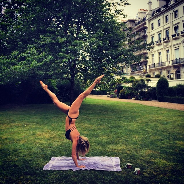 Playtime in the sun in London