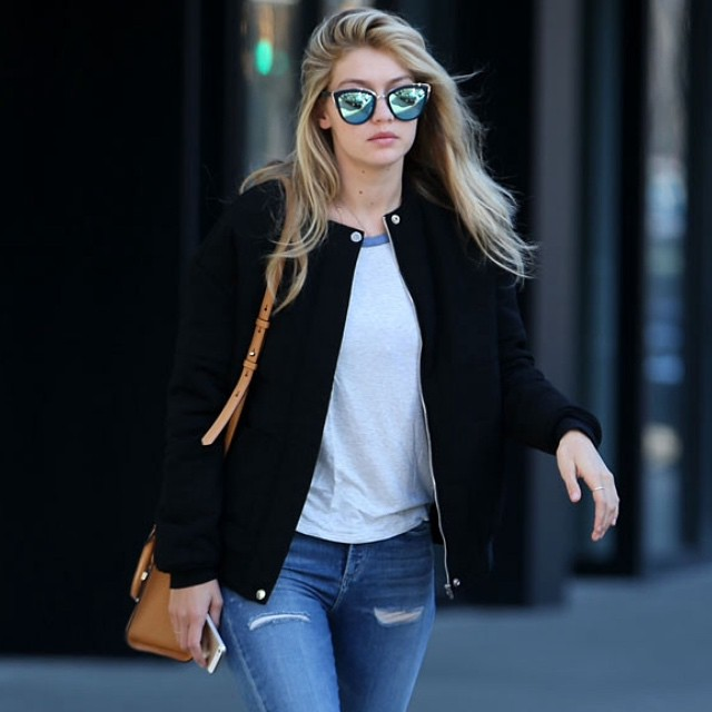Gigi Hadid's street style game is on point!