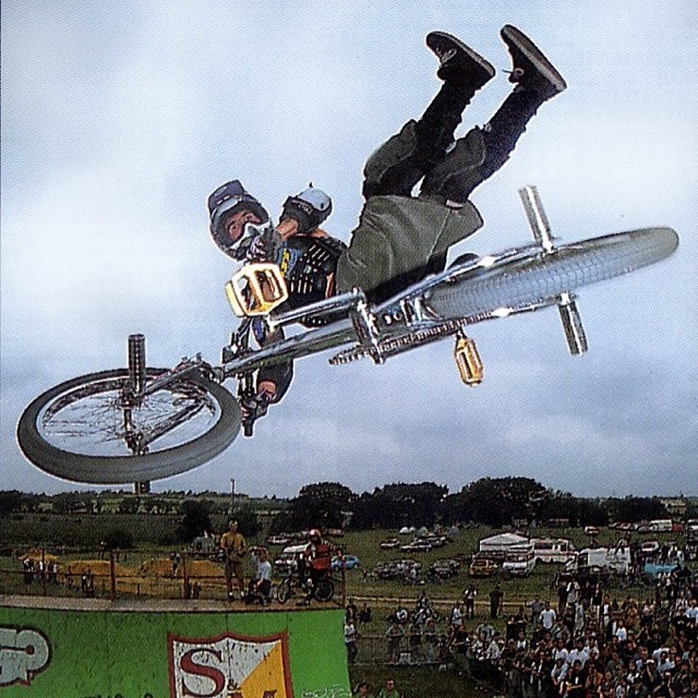 British-born Jamie Bestwick has dominated the BMX world for over a decade, beginning with his first X Games medal in 1996. Bestwick ended Dave Mirra's three-year reign in vert-riding just four years later, and has been nearly unstoppable ever since, earning ten Dew Cup championships and nine X Games gold medals in a row. Follow Jamie on Instagram @jamiebestwick.