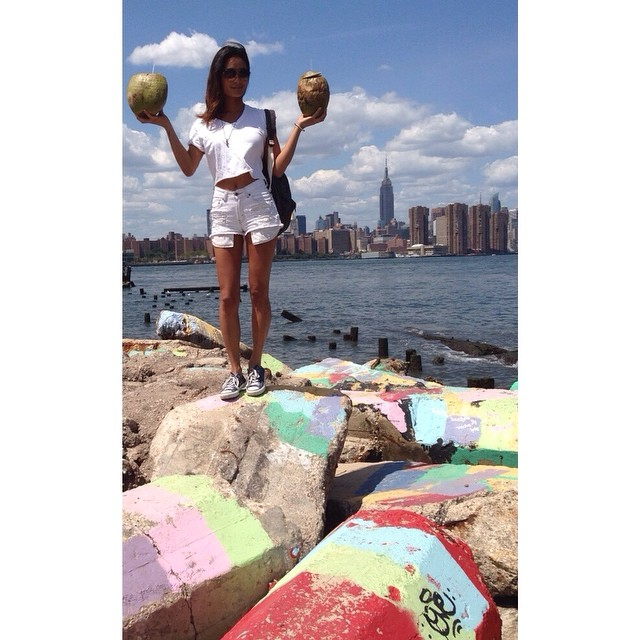 I've got a lovely bunch of coconuts #smorgasburg #excellskingston #brooklyn #ny #summer