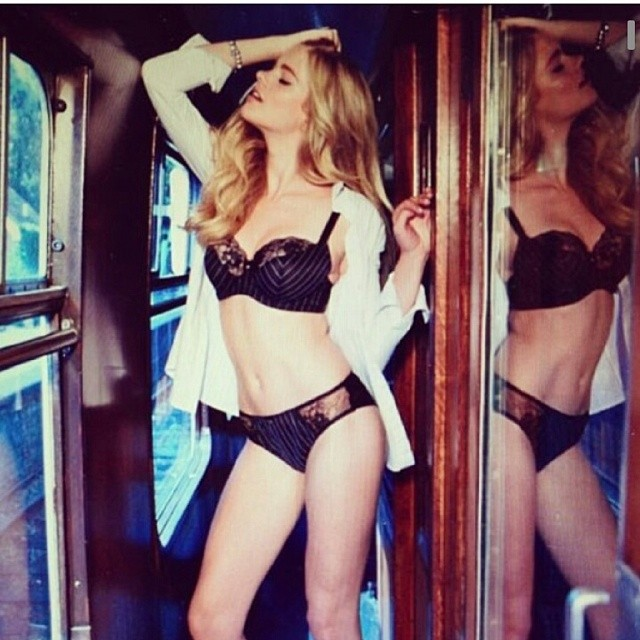 #repost @bouxavenue sneak peek for the autumn/winter! #bouxavenue #lingerie #model