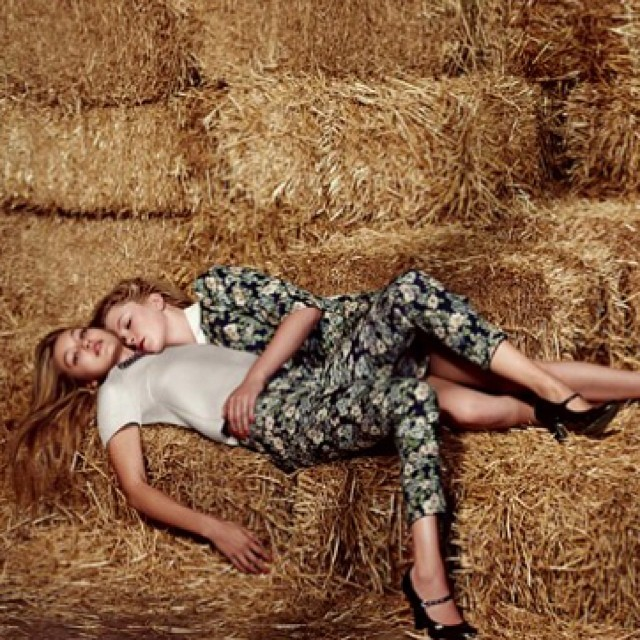 #IMGigi (@gigihadid) + #IrelandMG (@irelandbbaldwin) star in the latest #Sisley campaign. #IMGirls #IMGmakers