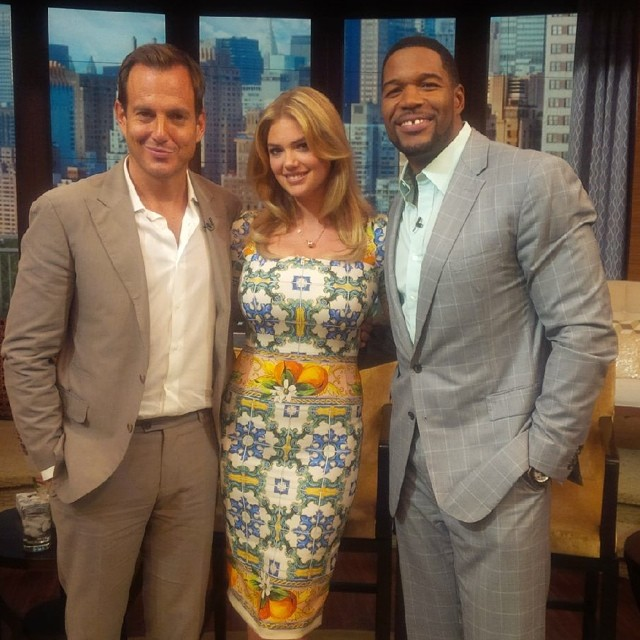 Had so much fun with @MichaelStrahan and @arnettwill on @kellyandmichael!