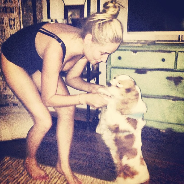 #regram @jordannyst #puppylove